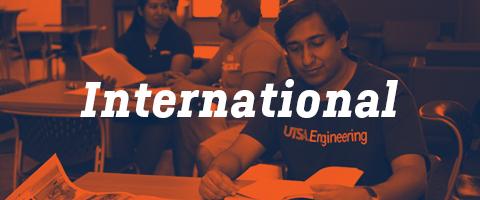 UTSA International Admission