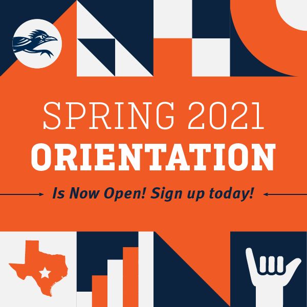 Spring 2021 Orientation is Now Open