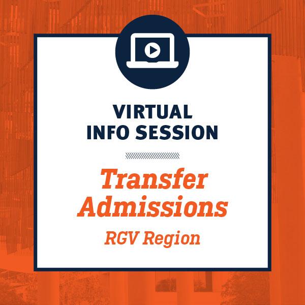 Transfer Admissions Virtual RGV Sessions