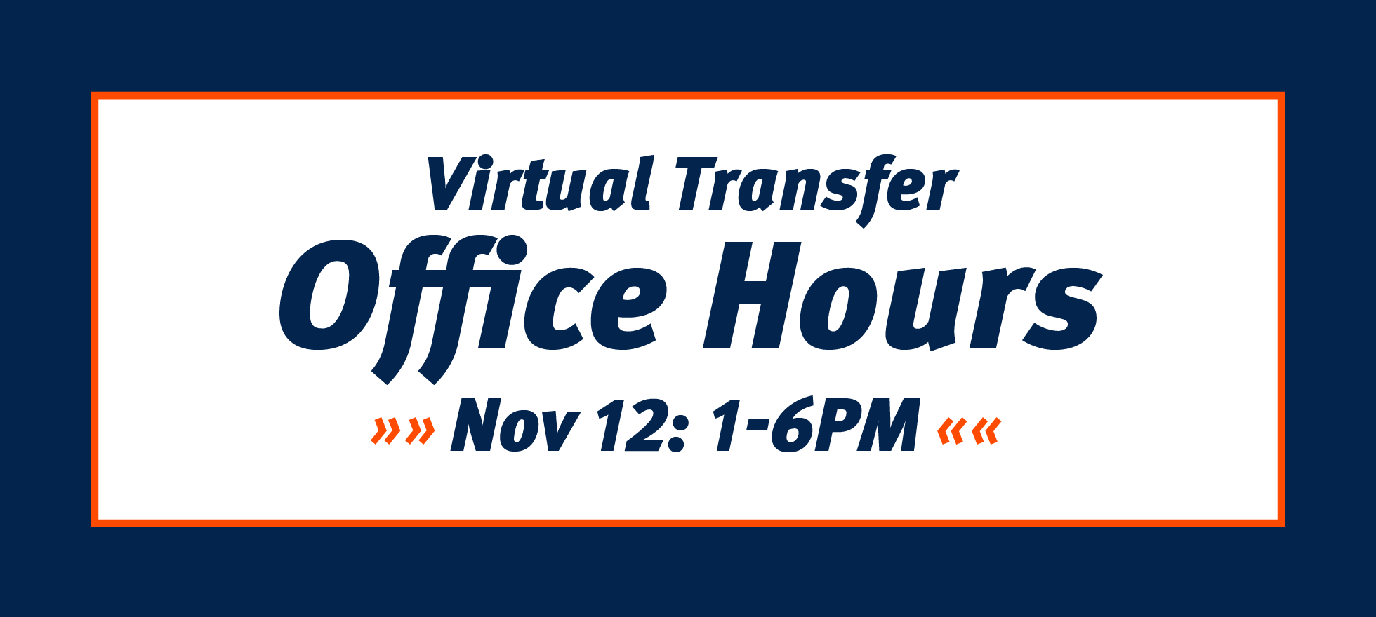 Virtual Transfer Hours