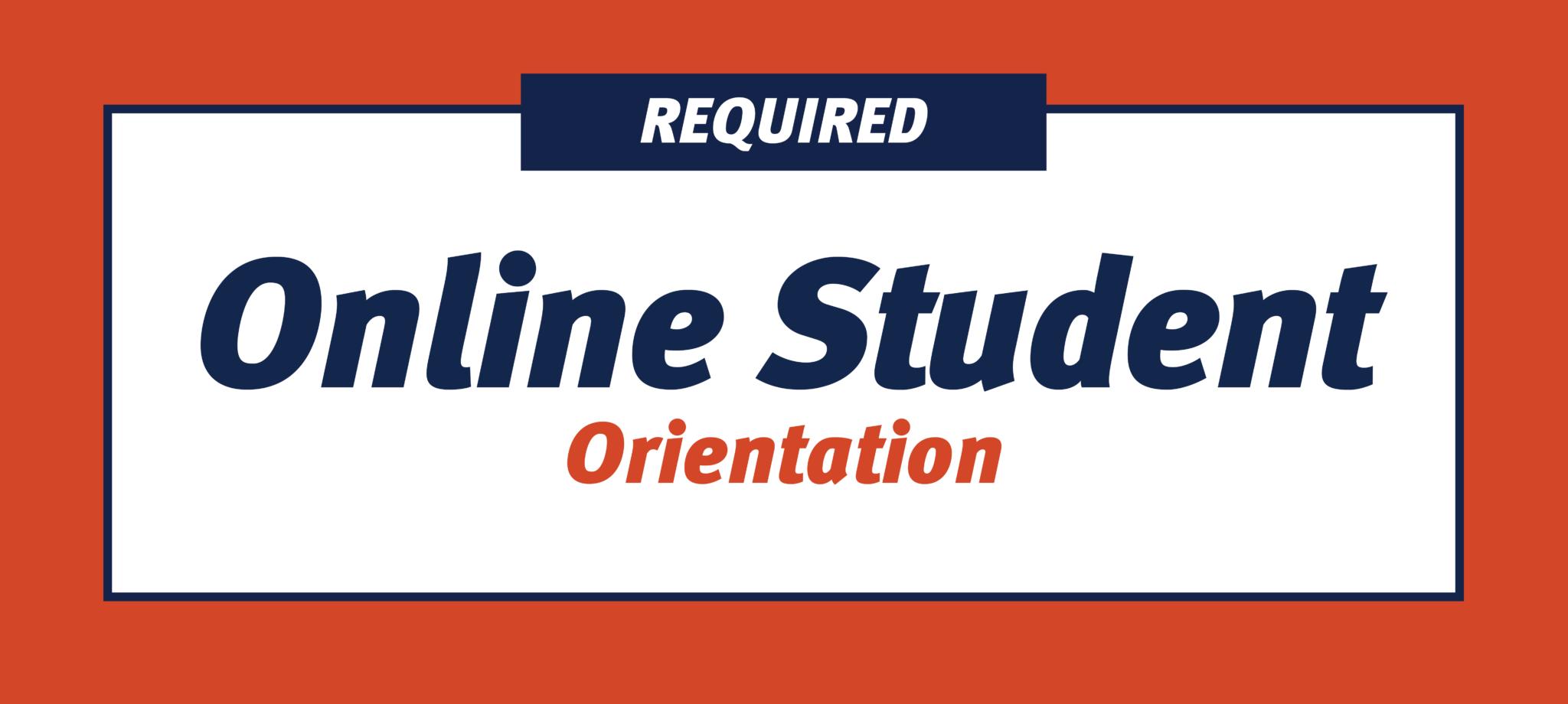 Online Student Orientation
