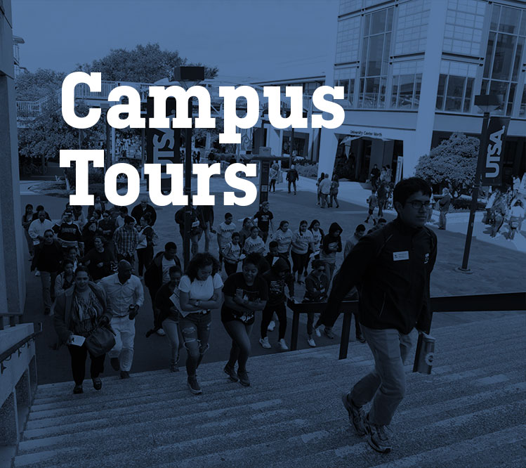 Visit UTSA attent a Campus Tour