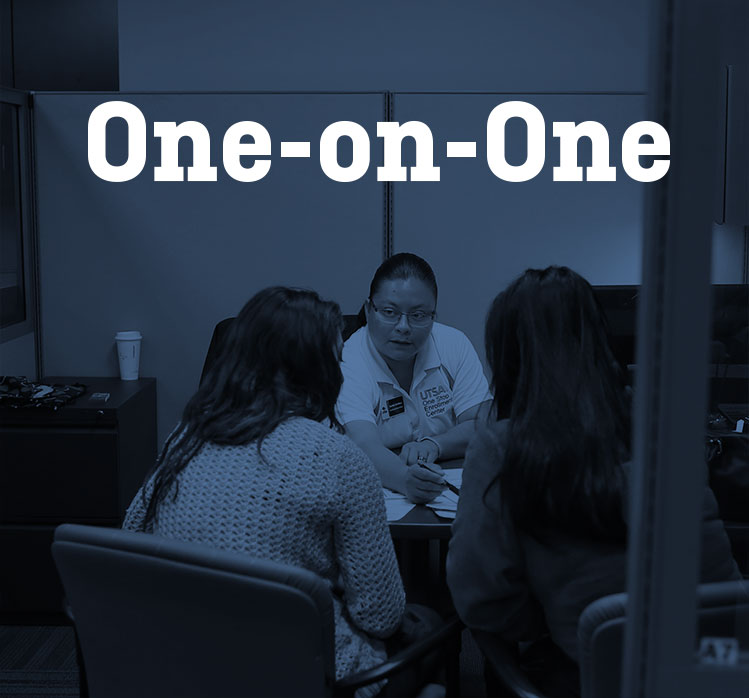 UTSA One-on-One Sessions